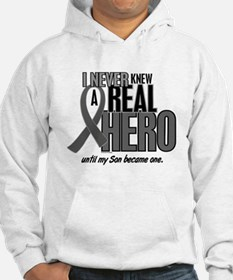 Never Knew A Hero 2 Grey (Son) Hoodie