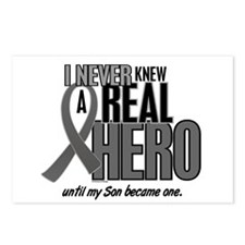 Never Knew A Hero 2 Grey (Son) Postcards (Package