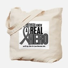 Never Knew A Hero 2 Grey (Son-In-Law) Tote Bag