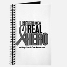 Never Knew A Hero 2 Grey (Son-In-Law) Journal