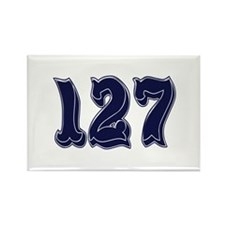 127 Rectangle Magnet