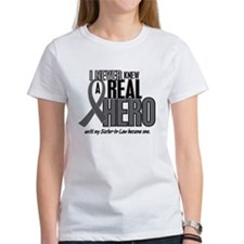 Never Knew A Hero 2 Grey (Sister-In-Law) Tee