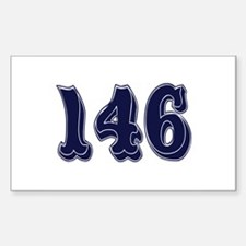 146 Rectangle Decal