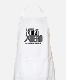 Never Knew A Hero 2 Grey (Brother-In-Law) BBQ Apro