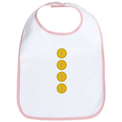 Yellow Buttons Bib