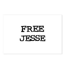 Free Jesse Postcards (Package of 8)