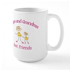 Claire & Grandma - Best Frien Mug