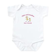 Claire & Grandma - Best Frien Infant Bodysuit