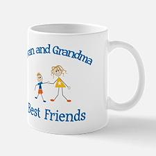 Evan & Grandma - Best Friends Mug
