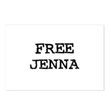 Free Jenna Postcards (Package of 8)