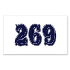 269 Rectangle Sticker 10 pk)