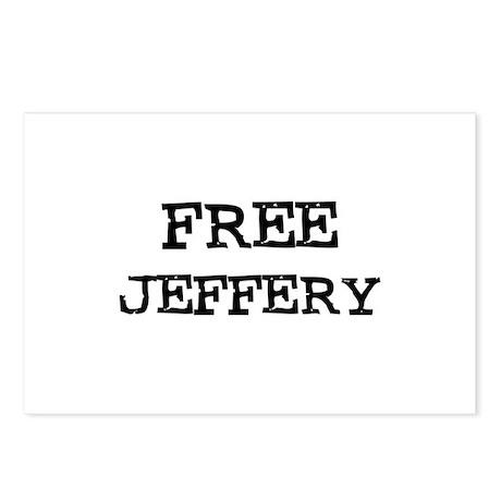 Free Jeffery Postcards (Package of 8)