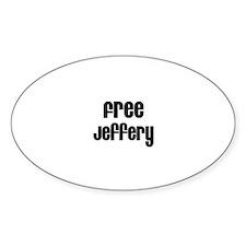 Free Jeffery Oval Decal