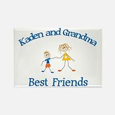 Kaden & Grandma - Best Friend Rectangle Magnet
