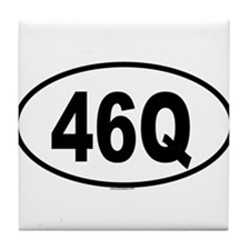 46Q Tile Coaster