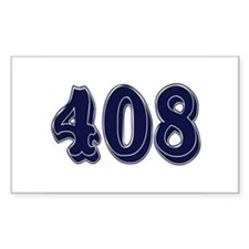408 Rectangle Decal