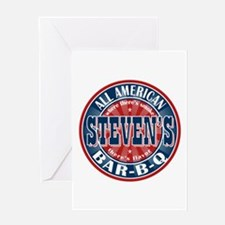 Steven's All American BBQ Greeting Card