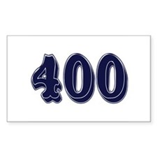 400 Rectangle Decal