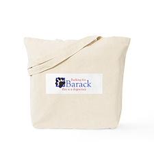 Barking for Barack Tote Bag