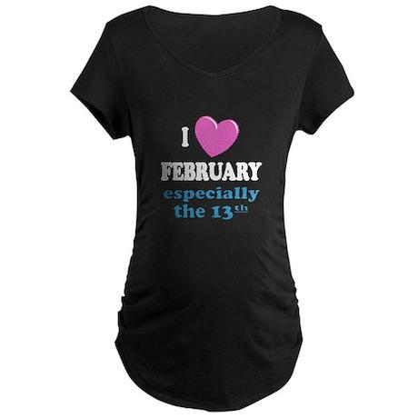 PH 2/13 Maternity Dark T-Shirt
