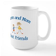 Aaron and Mom - Best Friends Mug