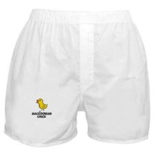 Macedonian Chick Boxer Shorts