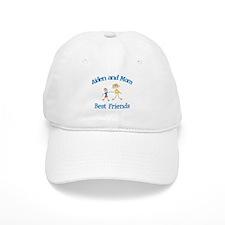 Aiden and Mom - Best Friends Baseball Cap