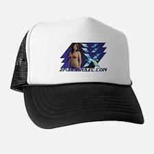 """Ocean Blue"" (explicit) Trucker Hat"
