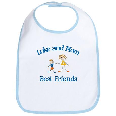 Luke and Mom - Best Friends Bib