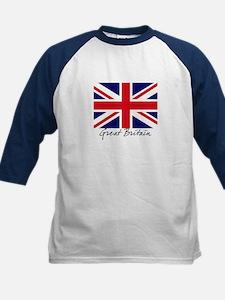 British Flag Union Jack Kids Baseball Jersey