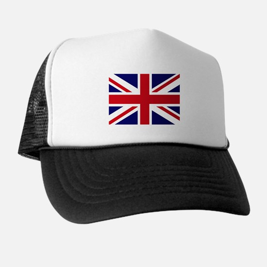British Flag Union Jack Trucker Hat