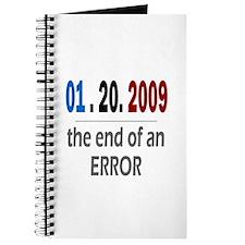 Unique End error Journal