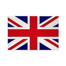 British Flag Union Jack Rectangle Magnet