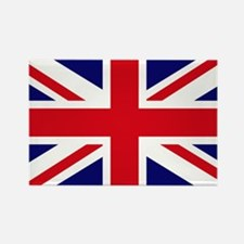 British Flag Union Jack Rectangle Magnet