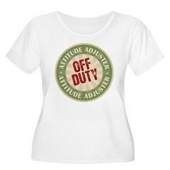 Off Duty Attitude Adjuster T-Shirt