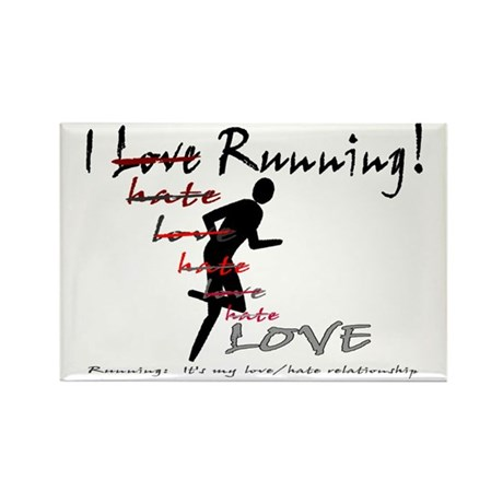 love/hate relationship Rectangle Magnet (10 pack)