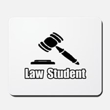 """""""Law Student"""" Mousepad"""