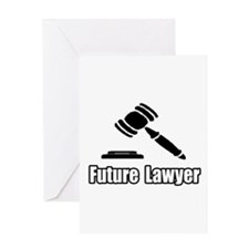 """Future Lawyer"" Greeting Card"