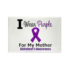 Alzheimer's (Mother) Rectangle Magnet