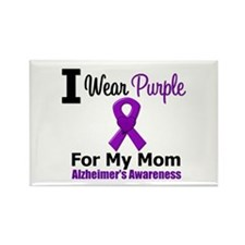 Alzheimer's (Mom) Rectangle Magnet