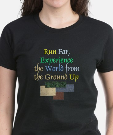 TOP Run Far Women's Dark T-Shirt