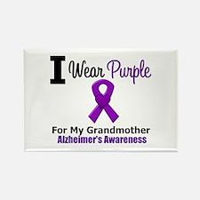 Alzheimer's (Grandmother) Rectangle Magnet