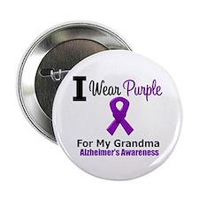 "Alzheimer's (Grandma) 2.25"" Button"
