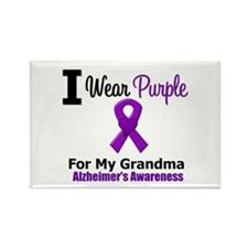 Alzheimer's (Grandma) Rectangle Magnet
