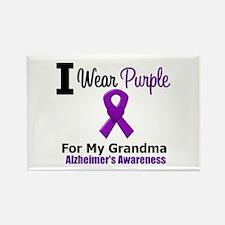 Alzheimer's (Grandma) Rectangle Magnet