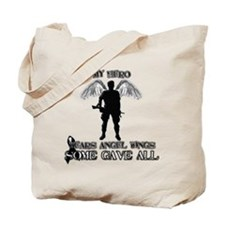 Cute Fallen soldiers Tote Bag