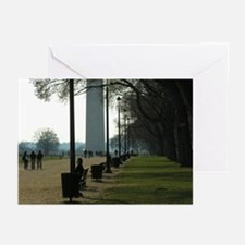 The Mall - Downtown DC Greeting Cards (Package of