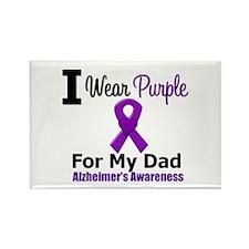 Alzheimer's (Dad) Rectangle Magnet