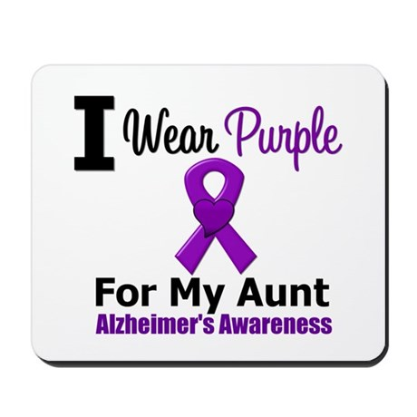 Alzheimer's Aunt Mousepad