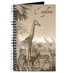 Explore: Giraffe and Pyramids Journal